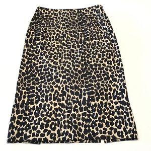 Victoria's Secret Animal Print Pencil Skirt - 2